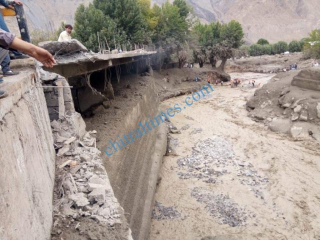 Reshun flood damages 2020 14