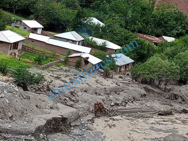 Reshun flood damages 2020 4