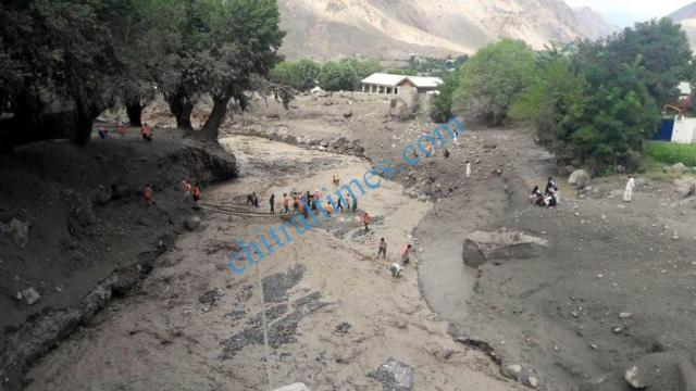 Reshun upper chitral flood pics 2