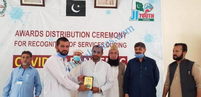 mna chitrali distributes awards among covid19 front line persons4 1