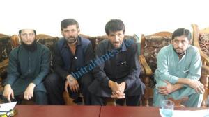 shishikoh press confrence in favor of chitral police scaled