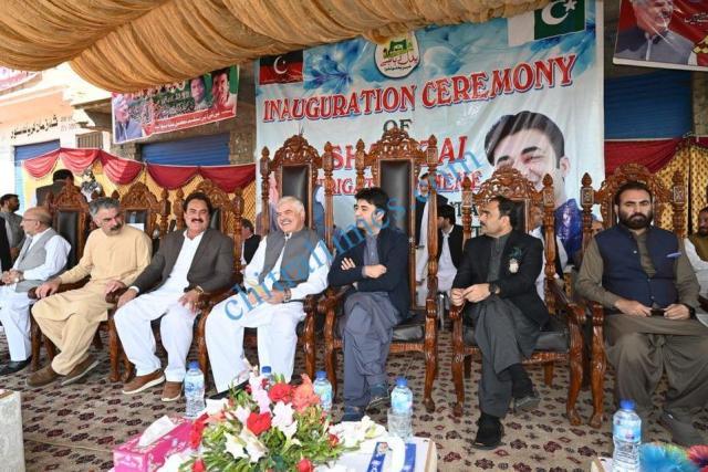 CM visit to swat mahmood khan and murad saeed3