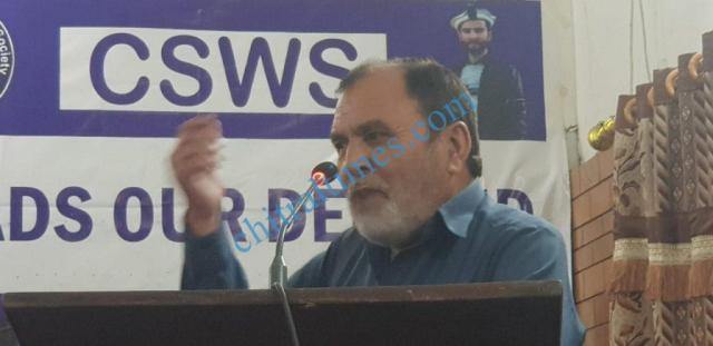 chitral development forum meeting shahmurad baig