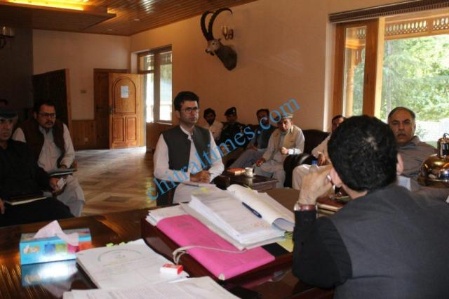 nha gm chitral dc office meeting2