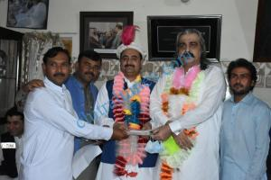 wazir zada dera visit and cheque distributed among mimority