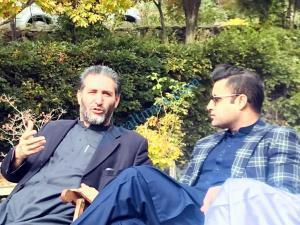 zulfi bukhari and zilla nazim maghfirat shah meeting1