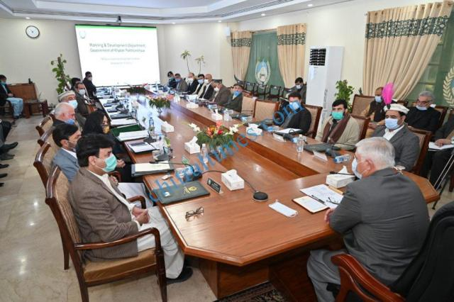 cm kp meeting on malakand division development project