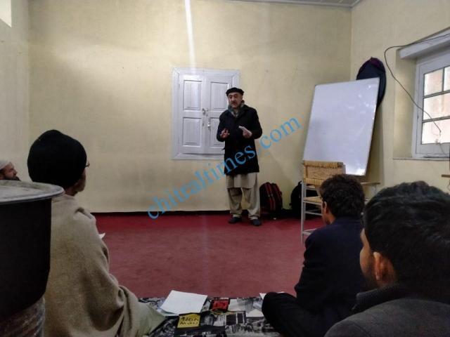 govarbati zuban chitral workshop