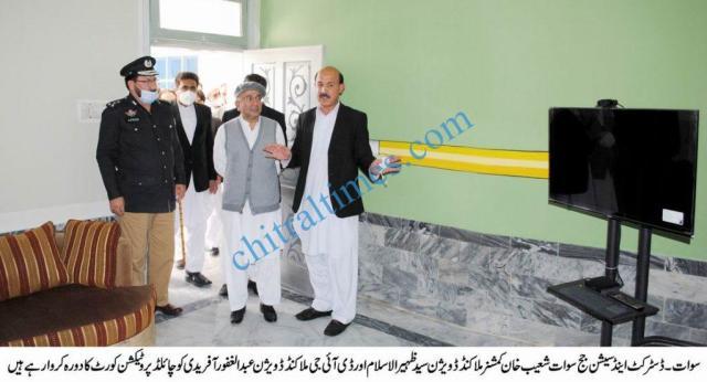 Commissioner MKD visit child court swat