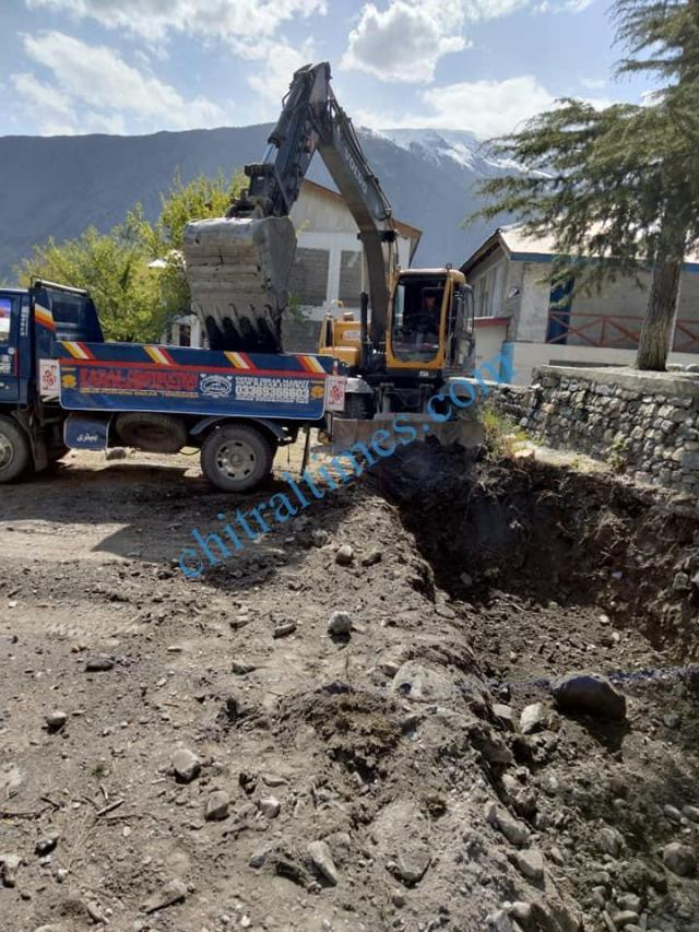 bs class rooms gdc chitral construction starts1