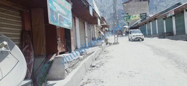 Booni bazar lock down upper chitral 3