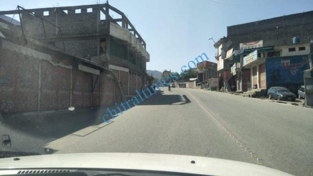 chitral bazar lockdown