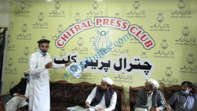 CAP party Chitral mubashir