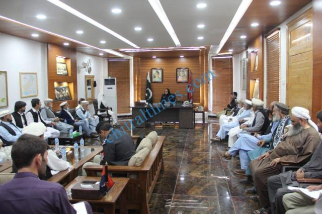 DRC meeting chitral under dpo lower chitral