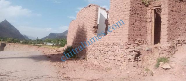 chitraltimes reshun flood victims homes washed away4
