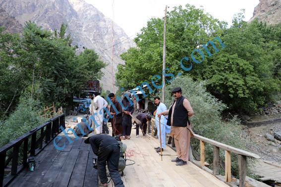 chitraltimes garamchashma road bridges repaired nha 3 1