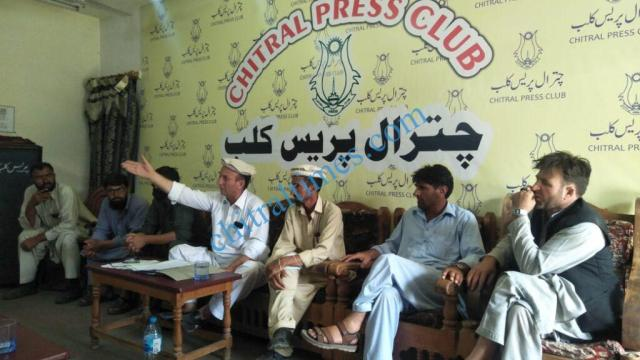 chitraltimes muhammad hussain press confrence2