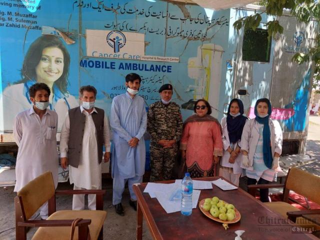 chitraltimes free mamography camp chitral booni