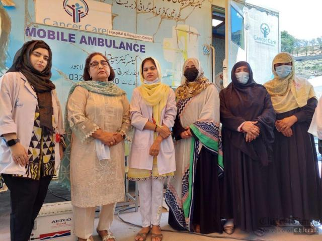 chitraltimes free mamography camp chitral5