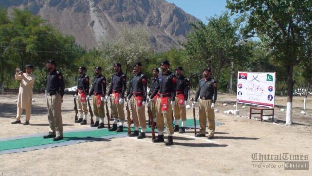 chitraltimes upper chitral police shuhada taqreeb2
