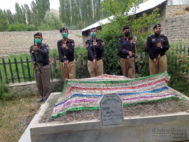 chitraltimes upper chitral police shuhada taqreeb5