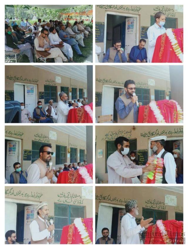 chitraltimes gms muzhgole program farewell for HM habib 2
