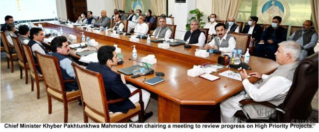 chitraltimes cm kpk chaired high priority projects