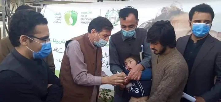 Polio drive launched in Chitral