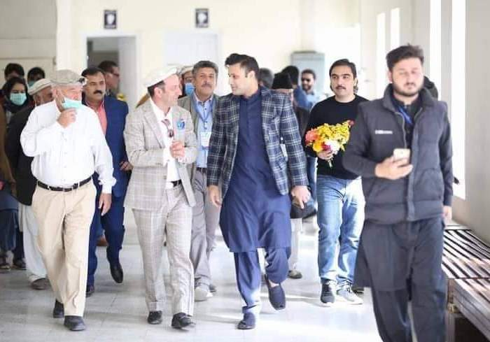 Zulfi Bukhari opens work on five star hotel in Chitral