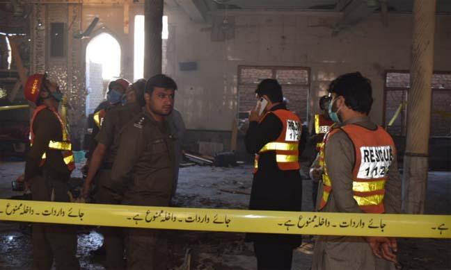 Seven killed in blast at Peshawar seminary