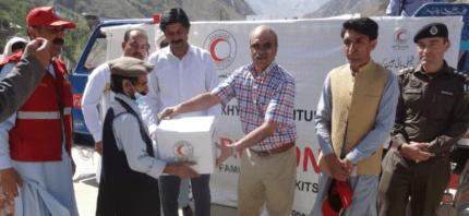 PRCS stresses public awareness of natural calamities