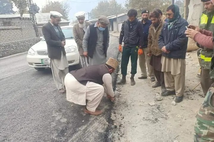 Road repair work highly substandard: MNA