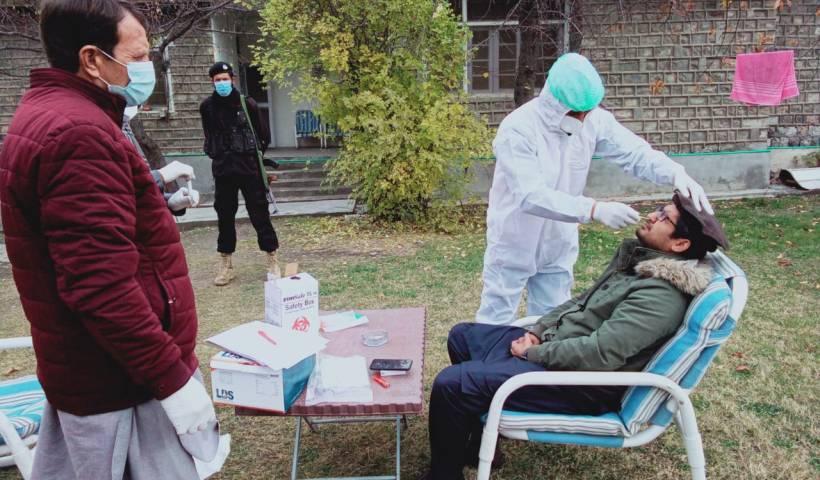 Tehsildar tests positive for coronavirus