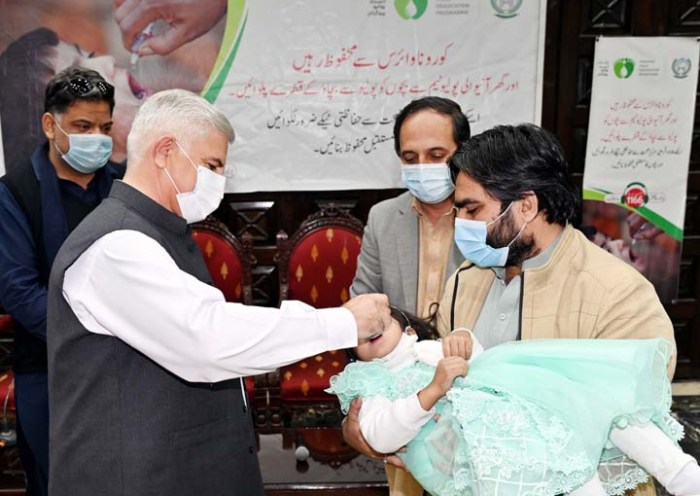 Five-day anti-polio drive in KP