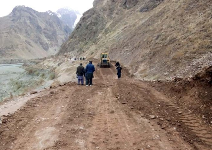 Booni-Awi road repaired by youth volunteers