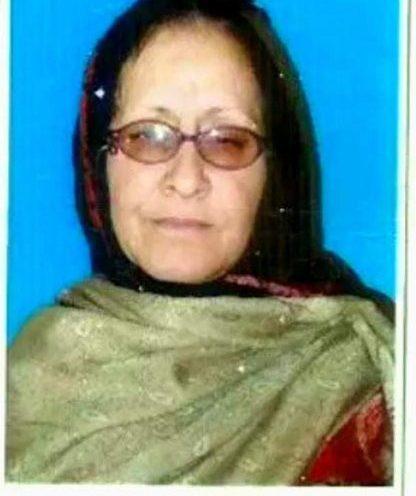 Ex-DEO Gulsambar Begum passes away