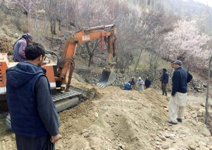 Work on Sonoghu-Meragram road begins