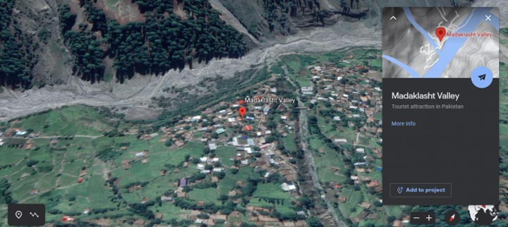 The flare-up to land dispute in Madaklasht