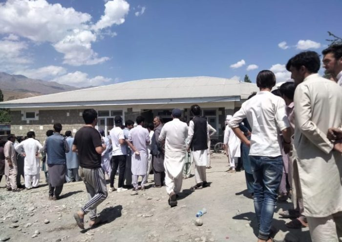 Road accident at Reshun gol