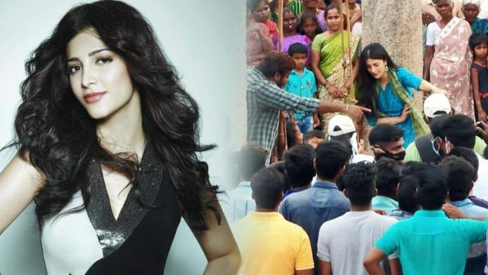 Shruti Haasan Walk Out From Her Latest Movie shooting spot