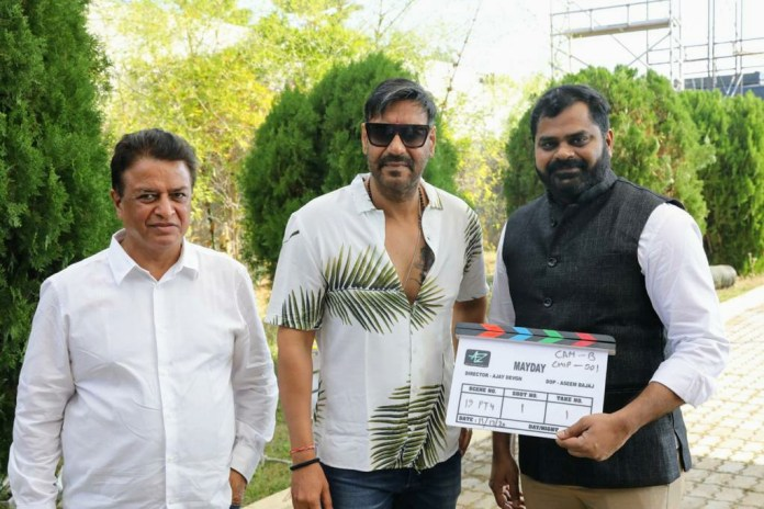Ajay Devgn MayDay movie star cast, shooting, poster, release date, update