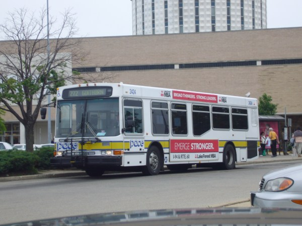 Cta Pace Bus Orion - Year of Clean Water