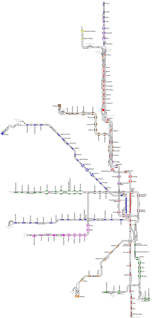 small resolution of chicago track map png