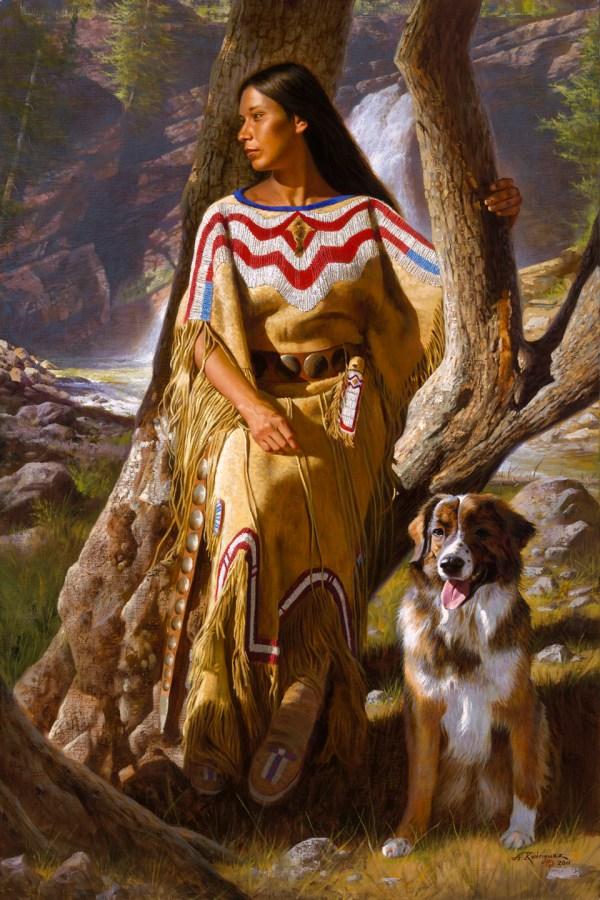 Alfredo Rodriguez Paintings Native American