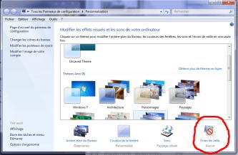 Windows 7 screen settings
