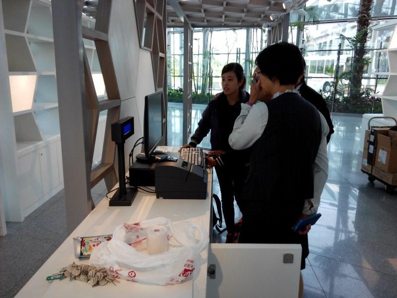 田中農會彰化高鐵站POS收銀機系統導入