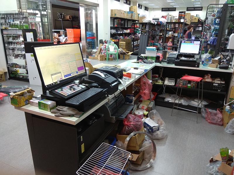 薪東海五金百貨_五金POS零售收銀機系統導入