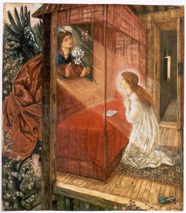 Angels and Annunciation Paintings and Art