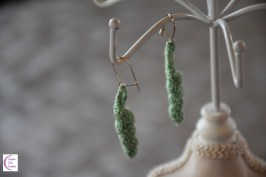 Shell earrings +°+ Boucles d'oreilles coquillage
