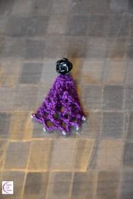 Lace earring +°+ Boucle d'oreille dentelle